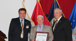 Mercer County, N.J., Legion vice commander receives DoD office honor