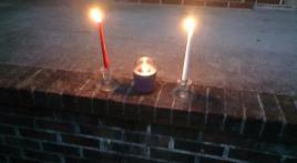 Home porch memorial - Bob Brinkmann