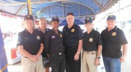 Children's Day, Ubon, Thailand, Brig. Gen. Robin Olds American Legion Thailand Post TH01