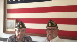 ATCHISON ELKS CLUB HONORS VETERAN