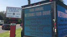 3rd annual food Drive