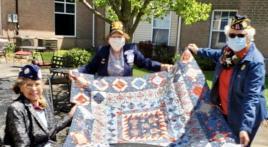 Korean War Veteran Rita Jordan Honored During COVID-19 Pandemic