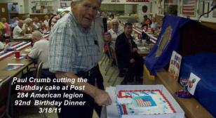 Belleview Fl  Post 284 Legion Birthday