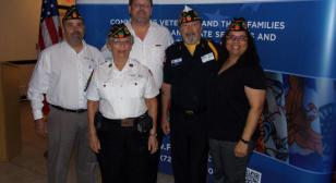 Post 385 members receive Governor's Veterans Service Medal