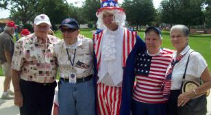 Honor Flight Reunion