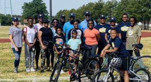 Post 1703 Legionnaires' 100 Miles for Hope initiative