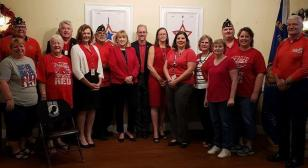 Francis Scott Key Post 11  and Frederick County, Md., declare every Friday a RED Friday for the remainder of 2019