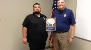 Bergeaux named 2020 Department of Louisiana Law Enforcement Officer of the Year
