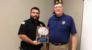 Mendoza is 2021 Department of Louisiana Law Enforcement Officer of the Year