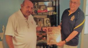 Hulin Theriot selected American Legion State Firefighter of the Year