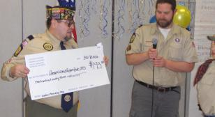 Cub Scouts donate to Royal Oak Post 253
