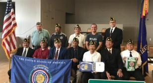 American Legion Post 603 installs 2017-2018 officers