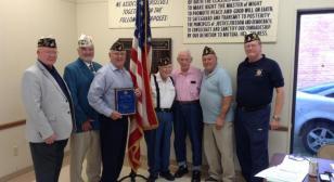 Post 19 Blue Cap recipients recognized