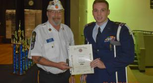 CAP cadet awarded for Americanism
