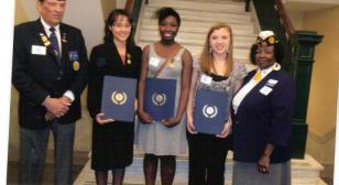 DEPT OF FL 15TH DISTRICT ORATORICAL CONTESTANTS
