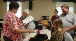 Post 64 Donates School Supplies