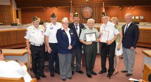 "Chaplain Charlie Haig receives ""Legion of Honor"" award"