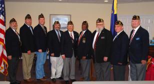 American Legion Post 110 holds officer installation ceremony