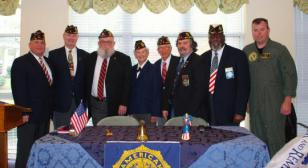 Veterans Day Observed at OLPH Senior Care Center
