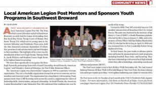 Post 385, FL Eagle Scout Award Presentation