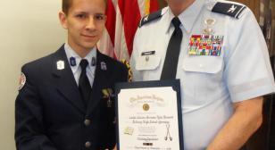 American Legion medals presented in Germany