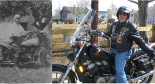 THE OLD ONE JOINS AMERICAN LEGION RIDERS