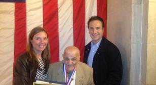 97-year-old honored at veterans ceremony in New Jersey