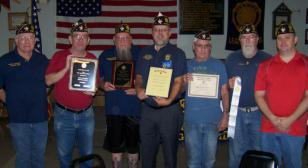 Otho Morgan Post 17 brings home awards