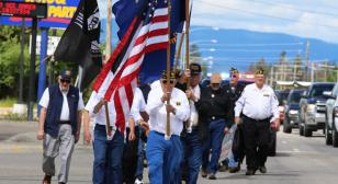 Vietnam Honor and Remembrance Walk, Columbia Falls, Mont.