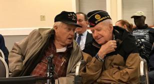Comrade Harold E. White, 70-Year Legion member