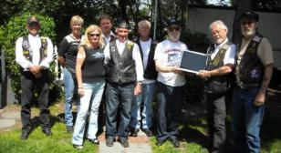 NH American Legion Riders Chapter 9 Donates to Liberty House