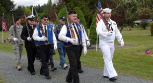 Memorial Day at Machias Cemetery