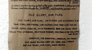 """Old Glory, Our Flag"""
