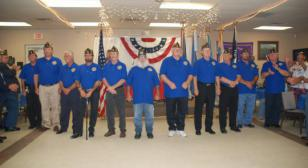 Post 4, District 7 Installation