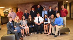 Westerville Board of Education honors Post 171 delegates to Boys & Girls State