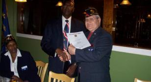 Snyder becomes New Commander of Post 39,Williamsburg, Va