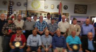 Post 138 Korean War Veterans Honored