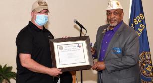 American Legion Post 828 hosts Veterans Day ceremony, Junior NCO reception
