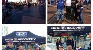 "American Legion Riders Escort ""Ride to Recovery"""