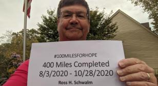 400 miles in 87 days