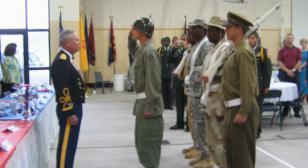 USArmy CLC JROTC Battalion Gives Support to USArmy SCDJJ JROTC Batallion