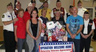 Department of Florida Officers Welcomes Home SSGT Daniel Hays