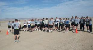 Post 110 Sponsors 5K Race in Afghanistan