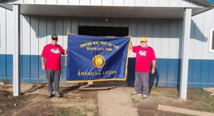 Don Brown and Jerry Kelly did 100 Miles for Hope