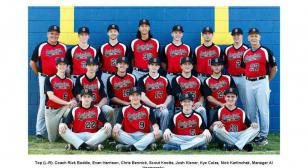 Post 176 baseball team wins district title