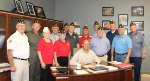James O. Hall Post 19 celebrates 100 years