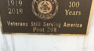 Marion (Iowa) post rededicates memorial to birthday of The American Legion