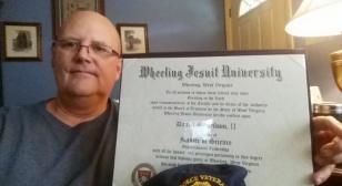 Wheeling Jesuit University GI BIll Legionnaire Dan Wilson