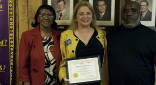Chamber of Commerce, Gladewater Texas Honors Post 281's Hometown Commander