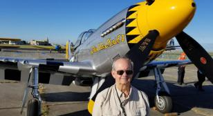 Veterans attend the National WWII Land, Sea, and Air Expo